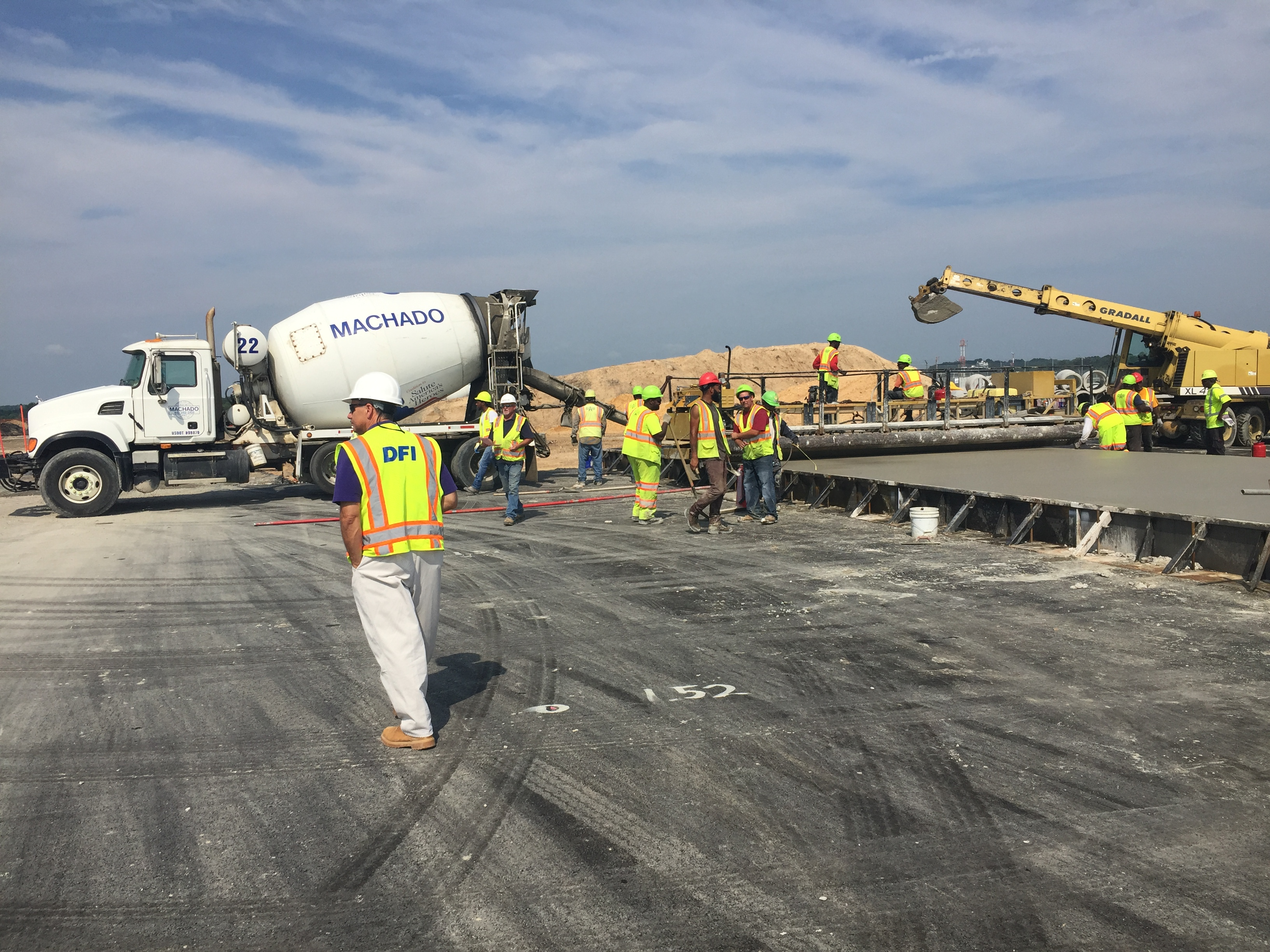 BWI Airport Cargo Pad, Baltimore, Maryland
