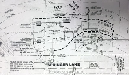 Springer Site Plan